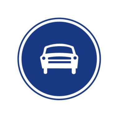 机动车行驶标志
