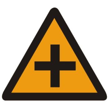 十字交叉标志