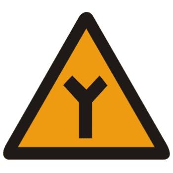 Y形交叉标志