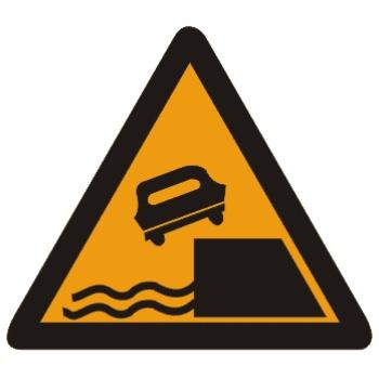 堤坝路标志