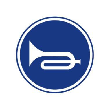 鸣喇叭标志